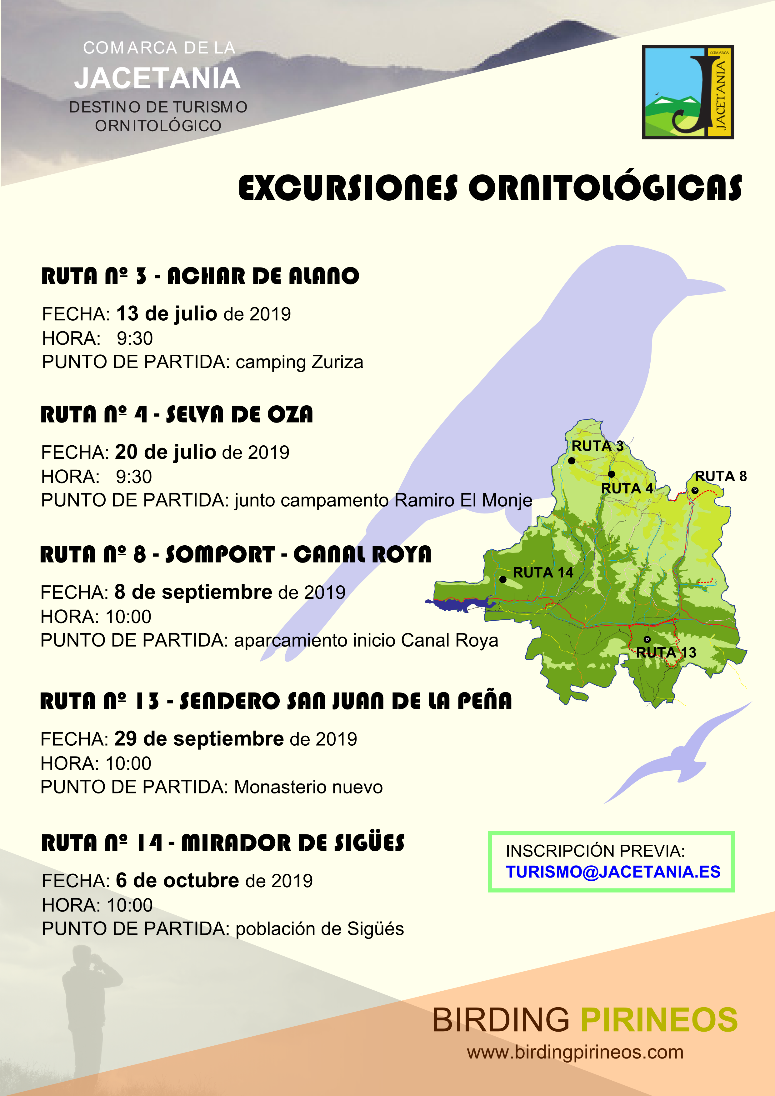 Excursiones Ornitológicas